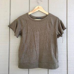 Harlowe & Graham SOFTEST Olive Sweatshirt